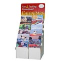 Calendar Wall 16 Month 2018 12ast 11x12 120pc Floor Display Upc Label