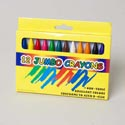 Crayons 12ct Jumbo 3.93in L 7/16 Inch-window Box