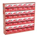 Tape 3pk Crystal Clear 3/4x300in 24pc Tray Display Bondstar Pckg