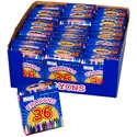 Crayons 36ct W/sharpener 18clrs In 36pc Pdq Printed Box