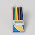 Pencils Color 8ct Peggable Pvc Pouch Gov Stationary Insert Card