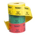 Raffle Tickets 500ct Roll Each Shrink Wrapped/stationery Label