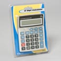 Calculator 12 Digit Button Cell No Solar Function/stat Clampk
