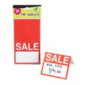 Garage/yard Sale Tablecards 4x3.5in Folded 20ct 250gsm Stat Polybag Header