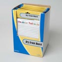 Dry Erase Board Magnetic 2ast Novelty Print W/marker-24pc Pdq 6.65 X 9in Stationary Pbh