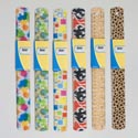 Ruler Plastic 6ast Fashion Prnts 12in/30cm Ea W/wrap Card