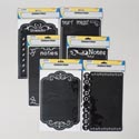 Sticker Chalkboard Removable 6ast/1sheet Ea On 24pc Mdsg 11.375 X 7.75in/chalkbrd Art