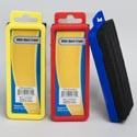 Eraser Black/white Board 3 Asst Clrs Blue/red/yellow Stat Label/plast Peggbl Header