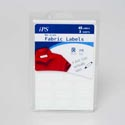 Fabric Labels No Iron White 45ct Writeable 12pc Mdsgstrip 4 Sizes Per Pack
