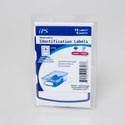 Identification Labels 15ct White Removable 3.75x1.62in 12pcstrip Laser/inkjet