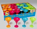 Margarita Glass Plastic 4ast Brites 48pc Pdq Upc Lab