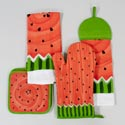 Kitchen Textiles Watermelon 2013 Design 4asst Styles Gov Logo Hangtag