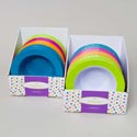 Soup Bowl Melamine Embossed Rim Solid Or Color Rim 24pc Pdq's 7.5in Dia New Summer Label