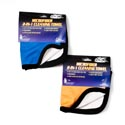 Auto Cloth 2-n-1 Microfiber 12x12 2ast Clr For Glass&surface Gov Auto Tie On Card