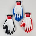 Gloves Work Latex Coated White Terylene W/3ast Color Hardware Tcd