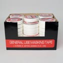 Tape Masking .94in X 45yds (24mm X 41.1m)shrink In 48pc Pdq