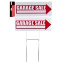 Garage Sale Sign W/stakes 15.98 X 5.91in H Hardware Pbh