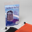Utility Bag Jumbo Polyester 22x30in W/drawstring .105 Cleaning Pbh