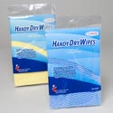 Handy Dry Wipes 5pk 21x14in 2ast Blue Or Yellow Cleaning Printed Pb