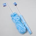 Duster Microfiber 24in 2-tone Fluffy Fiber Blue/white Color Gov Cleaning Hangtag