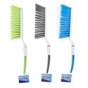 Brush Handled 12.5in 3ast Color Utility Style Cleaning Ht
