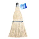 Whisk Broom Straw W/metal Cap & Hook Clean Ht *$3.88 Comp