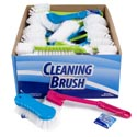 Household Cleaning Brushes 4ast Styles W/clean Ht/48pc Pdq