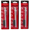Tire Pressure Gauge Pencil-type With 4 Bonus Valve Caps Auto Blistercard