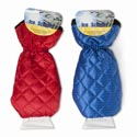 Ice Scraper W/quilted Lined Mitt Red/blue Colors Auto Hangtag