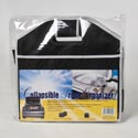 Trunk Organizer Collapsible Blk 3-section Nonwoven 21x13x12.5 Auto Insert Card/polybag