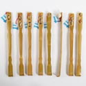 Back Scratcher 20in. Bamboo W/ Massager Rollers 8ast Hba Ht