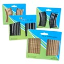 Bobby Pins 120pc. Lg. Or 72pc. Jumbo Asst Black And Gold Hba Card