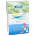 Pocket Tissue 6pk 3ply 10pcs Per Pk 19x20cm Per Sheet 9.5 X 5 X 2.7 Shrink Label
