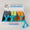 Body Massager Plastic 4ast Clrs W/ergonomic Grip In 24pc Pdq Hba Ht