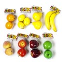 Fruit Decorative Lifesize 8asst Styles Foam 2/3pk Mesh Bag ** No Amazon Sales **