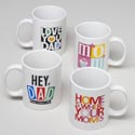 Mug Mother/fathers Day 12oz 4asst Designs Upc Label