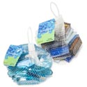 Craft Gems Glass 12oz 2ast Oblong Oval/rect Tile Mixed Colr Mesh Bag W/header