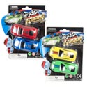 Cars Window Racer 2pk 3x1.5in 2asst Colors Combos/blister Card