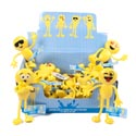 Bendable Figure Emoticon 4.7in 6ast Friends 24pc Pdq