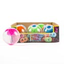 Bouncing Glitter Water Eyeball 2.5in Dia 4ast In 12pc Pdq