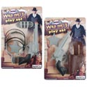 Cowboy Gun Playset 2ast Gun/holster/ammo/spur/badge Blister Card