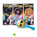 Paddle Ball W/light Up Function 10inx4.75in 4ast Prints Blstcrd