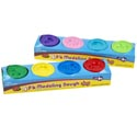 Modeling Dough 4pk/1 Oz Tubes 4ast Color/color Sleeve Card