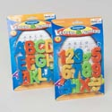 Magnetic Learning Set 26ct 2ast Numbers/letters On Blstr Card