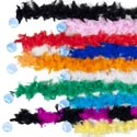 Boa Maribu Feather 48in Long 10asst Colors Ht