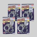 Handcuff W/badge Playset 4asst Styles On Blister Card