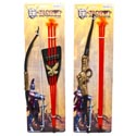 Bow & Arrow Playset Deluxe Knight 2ast Size 17/18in Tcd