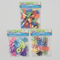 Building Blocks Plastic 3ast Styles 64/27/23 Shapes Pbh