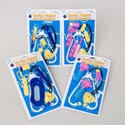 Doctor Playset 4-6pc 8asst Blue/yellow Or Pink/yellow Plastic/blister Card