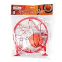 Basketball Game W/suction Cups 6.75in Net 2in Ball Plst Prtd Pb